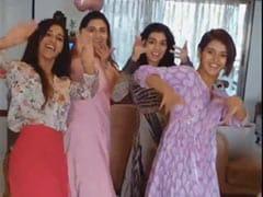 'DID' वाली शक्ति मोहन ने सहेलियों संग मचाई धूम, 'बोले चूड़ियां' पर यूं किया धमाकेदार डांस