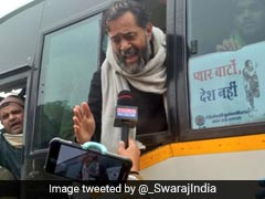 """""""Honour To Be Detained"""": Yogendra Yadav Tweets 1,000 More With Him"""