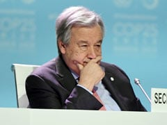 """Disappointed"": UN Chief On Madrid Climate Summit"