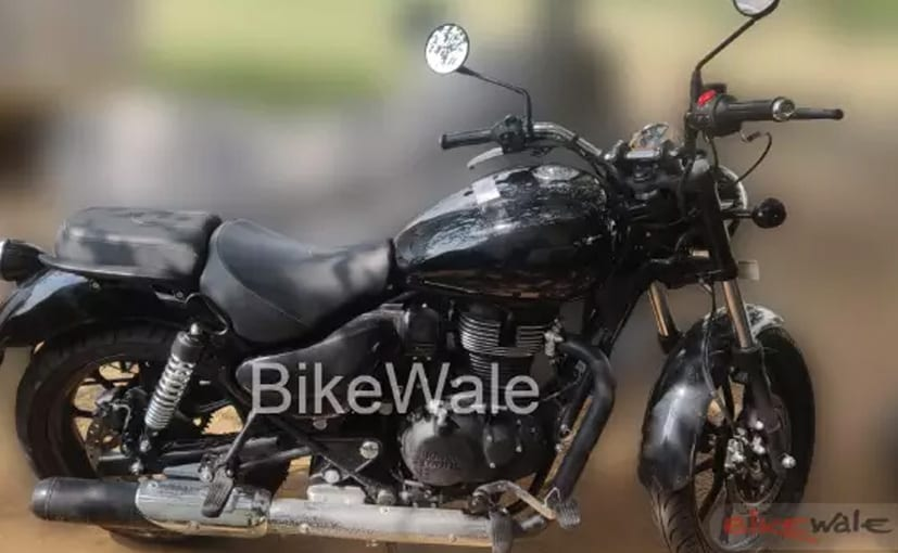The near-production Royal Enfield Thunderbird X gets updated styling and revised hardware.