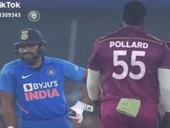 रोहित शर्मा के पास आकर पोलार्ड ने कहा कुछ ऐसा, फिर की गेंदबाजों की धुनाई, देखें Viral Video