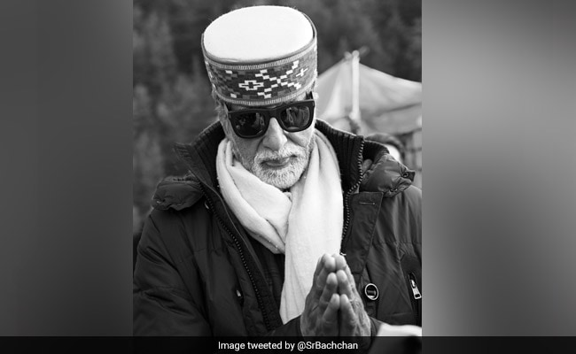 Brahmastra Diaries: The One Where Amitabh Bachchan Wore His 'Traditional Welcome'