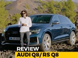 Video : Audi Q8 And Audi RS Q8 -  Exclusive Review Across Two Continents
