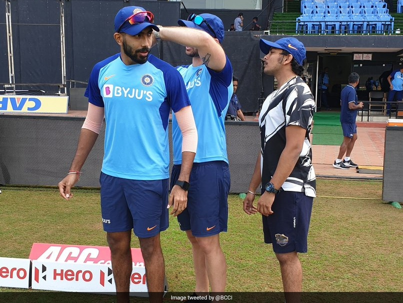 """""""Special Net Bowler"""" Jasprit Bumrah Helps India Prepare For 2nd ODI Against West Indies"""