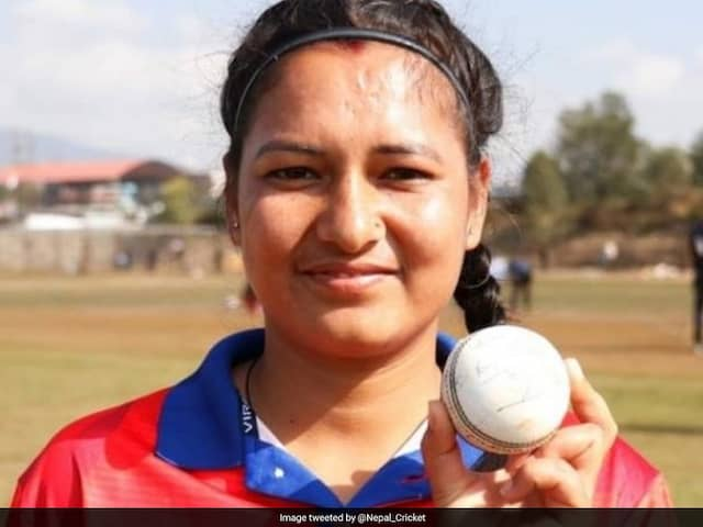 Nepal Woman Cricketer Creates History, Claims Best T20I Bowling Figures