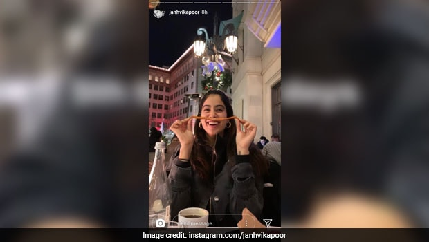 Janhvi Kapoor Binging On Fries In New York Is The Most Relatable Thing On Internet Today!