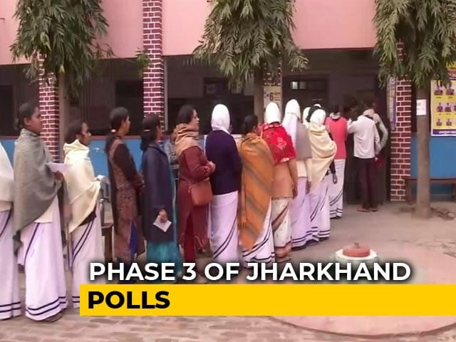 Video : Jharkhand Voting Round 3 Today, Key For Ruling BJP
