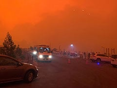 """Red Sky, Choking Dust"": Thousands Trapped On Australia Beaches By Wildfires"
