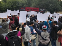 Protest Against Citizenship Act At Delhi Jantar Mantar, Metro Gates Shut