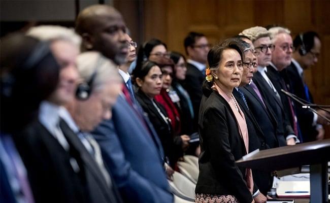 Aung San Suu Kyi Slammed For 'Silence' Over Myanmar Genocide Claims