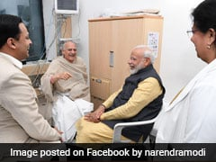 "PM Visits Arun Shourie At Hospital, Tweets On ""Wonderful Interaction"""