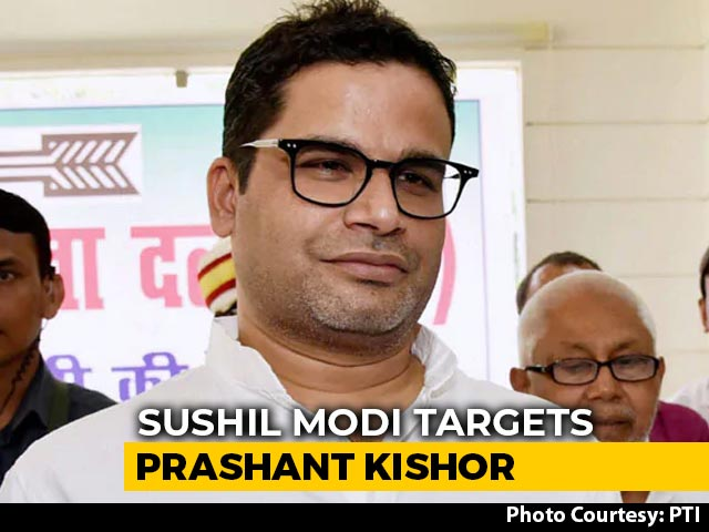 "Video : ""A Person Running Business For Profit..."": Ally BJP Jabs Prashant Kishor"