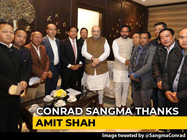 "Video : ""After Christmas"": Amit Shah Offers Hope To Meghalaya On Citizenship Law"