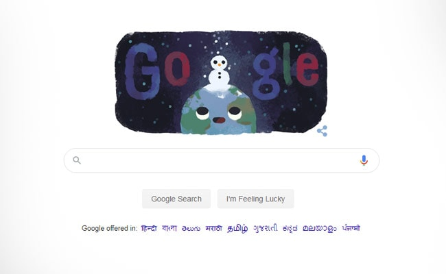 Google Marks Winter Solstice, Shortest Day, Longest Night Of The Year, With A Doodle