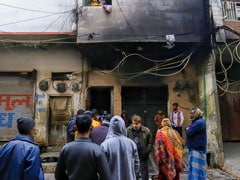 40 People Rescued After Fire Broke Out In Building In Delhi