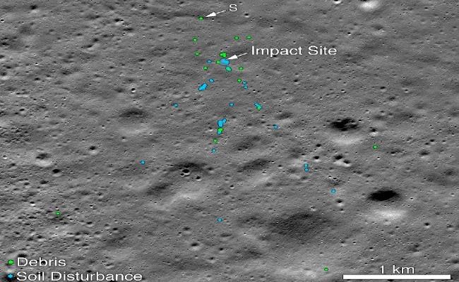 Found Chandrayaan 2's Vikram Lander On Moon, Says NASA; Tweets Images