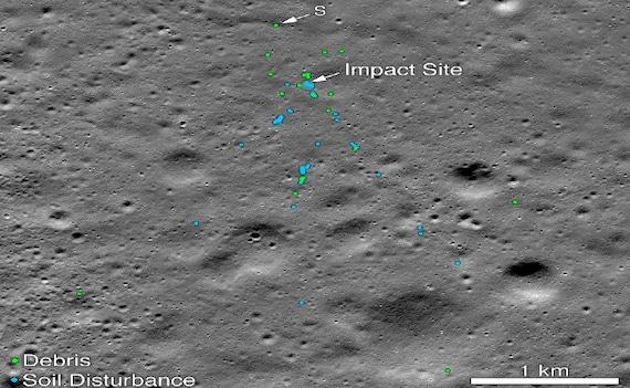 Chandrayaan 2: चंद्रमा की सतह पर मिला विक्रम लैंडर का मलबा, NASA ने तस्वीर जारी कर दिया भारतीय इंजीनियर को क्रेडिट