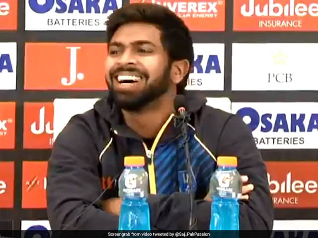 Watch: Niroshan Dickwellas Hilarious Response After Pak Journalists Mistake Him For Another Player, Not Once But Twice