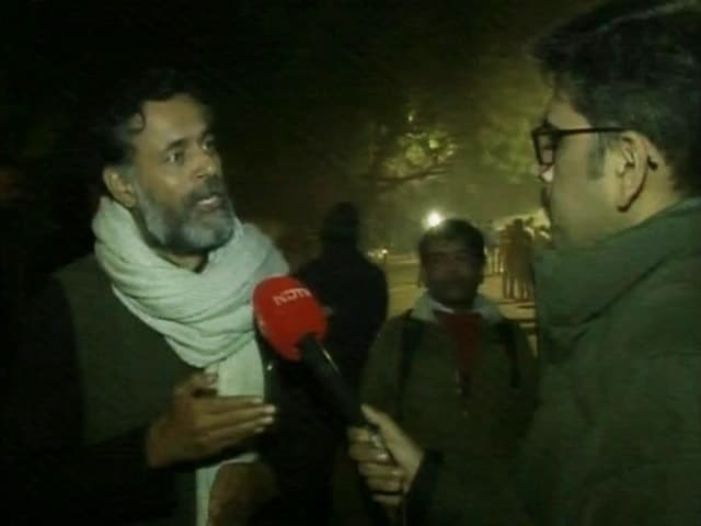 "Video : ""Today Was A Turning Point"": Yogendra Yadav On Citizenship Act Protests"