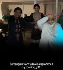 Video: एक्ट्रेस की दादी का दो महीने पहले हुआ था एक्सीडेंट, अब 87 की उम्र में डांसकर डॉक्टर्स को भी किया हैरान