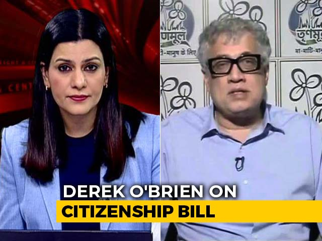 "Video : ""Choose Between Vivekananda's Or Amit Shah's Idea Of India"": Derek O'Brien"