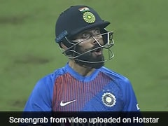India vs West Indies: Virat Kohli Gapes In Awe At His Own Six-Hitting Ability - Watch