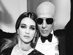 <I>Housefull 4</i> Actress Kriti Sanon Says 'Comedy Is Serious Business,' Thanks Akshay Kumar For Helping Her