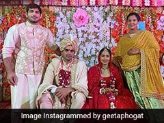 Wrestler-Turned-Politician Babita Phogat Marries Vivek Suhag. See Pics