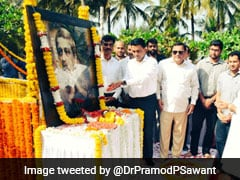 Goa Chief Minister Lays Foundation Stone For Manohar Parrikar's Memorial