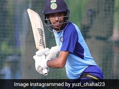 "England Woman Cricketer, India Fielding Coach Tease Yuzvendra Chahal For Enjoying ""Day Out In The Nets"""