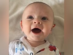 Video: Baby Smiles In Delight After Hearing Aids Are Turned On