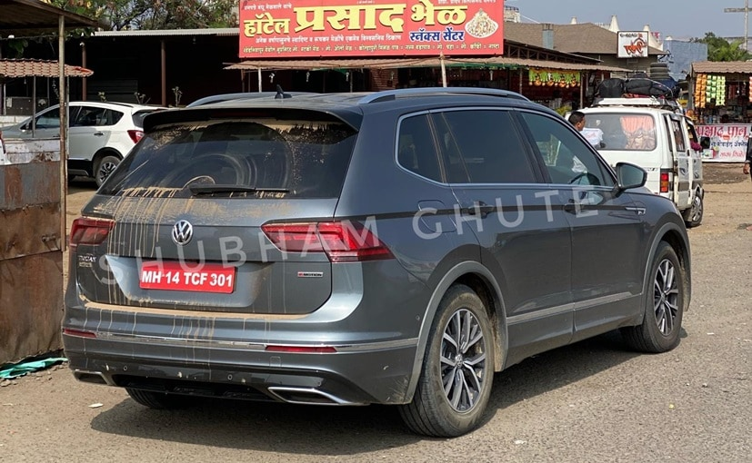 The Volkswagen Tiguan AllSpace at the upcoming Auto Expo 2020 in February