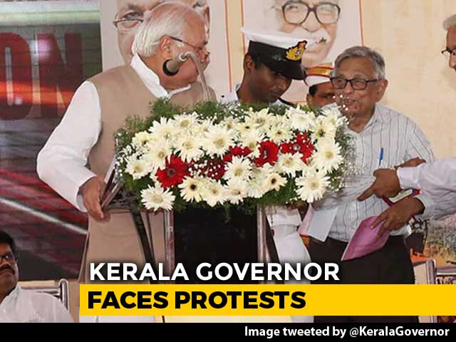 Video : Kerala Governor Supports Citizenship Law At History Event, Kicks Up Row