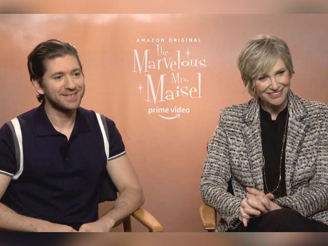 Video : Michael Zegen And Jane Lynch On Their Characters In <i>The Marvelous Mrs. Maisel</i>
