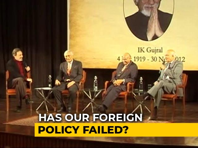 Video : Prannoy Roy And 3 Ex-Foreign Secretaries On India's New Global Role