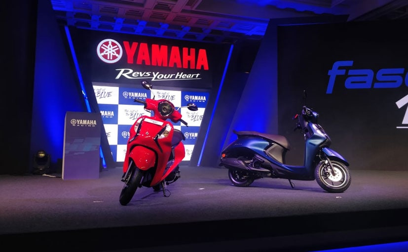 Yamaha Fascino 125 FI Launched In India; Priced At Rs. 66,430