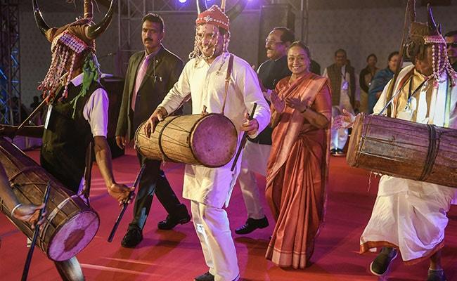 Watch: Rahul Gandhi Dances At Tribal Festival In Chhattisgarh