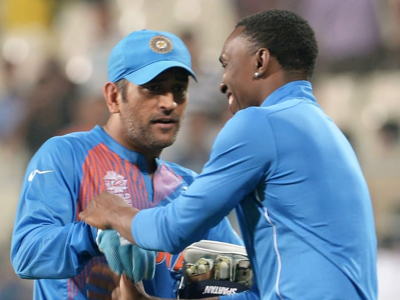 MS Dhoni Taught Us To Never Panic And Trust Our Abilities, Says Dwayne Bravo
