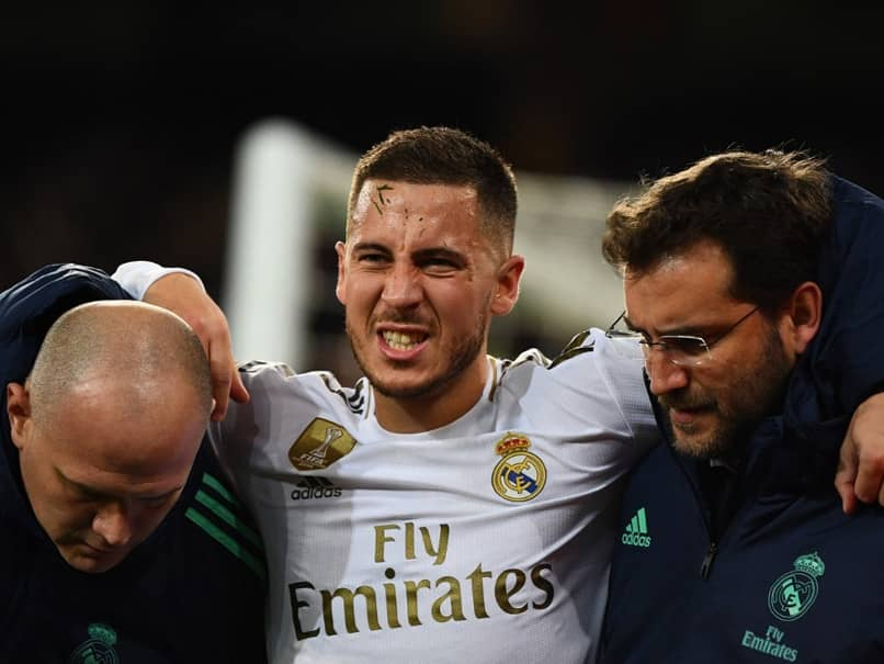 "Eden Hazard ""Will Return Stronger"" After Ankle Surgery: Roberto Martinez"