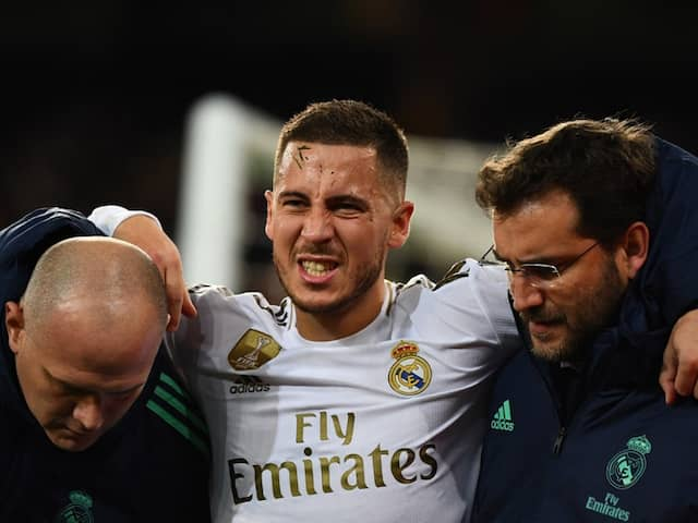 Real Madrids Eden Hazard Ruled Out Of El Clasico With Ankle Fracture