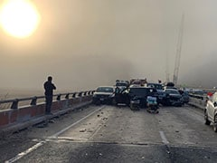 35 Injured In 63-Vehicle Pileup On Foggy, Icy Stretch Of US Highway