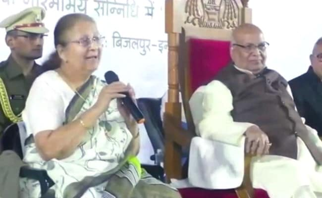 'Requested Congress Leaders To Raise Issues': BJP's Sumitra Mahajan