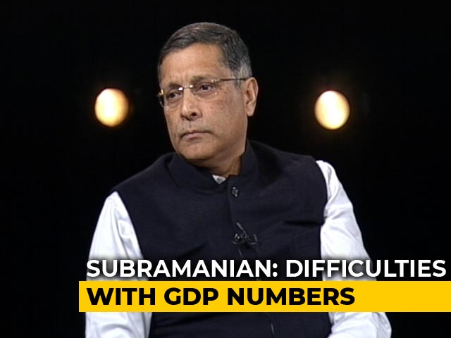 """Video: """"India's Great Slowdown"""": Arvind Subramanian To NDTV's Prannoy Roy"""