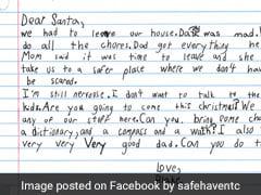 7 साल के बच्चे ने लिखा Santa को खत, पूछा- क्या आप क्रिसमस पर मुझे 'अच्छे पिता' दे सकते हैं