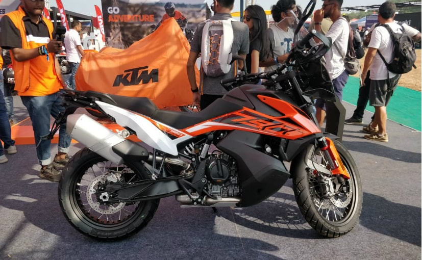 The KTM 790 Adventure will be launched in India in 2020