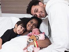 Arpita Khan Sharma And Aayush Sharma Share First Pic Of Baby Daughter Ayat