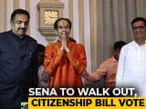 Video : Shiv Sena May Abstain In Citizenship Bill Vote In Rajya Sabha: Sources