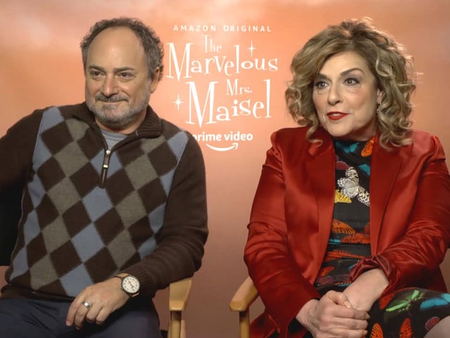 Kevin Pollak And Caroline Aaron Talk About Comedy Series The Marvelous Mrs. Maisel