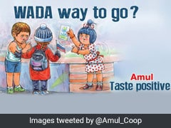 Amul Amuses Twitter With Ad On Russia's WADA Ban