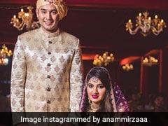 मोहम्मद अजहरुद्दीन की बहू बनीं सानिया मिर्जा की बहन अनम मिर्जा, देखें Wedding Video